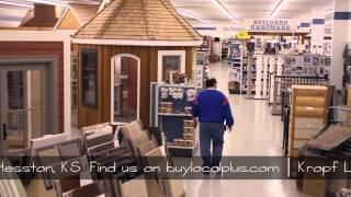 Kropf Lumber #1   Buy Local Plus Video   400 N. Lancaster Ave. Hesston Kansas 620-327-4951