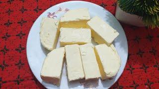 ঘরে তৈরি বাটার রেসিপি / Home Made Butter Recipe