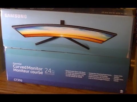samsung essential 24 inch curved monitor PC TV Test Review