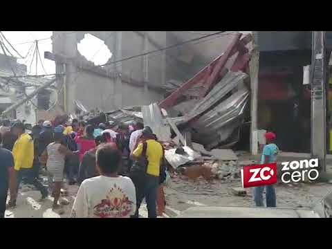 Colapso edificacion en construccion en Fundacion, Magdalena: Nueve heridos