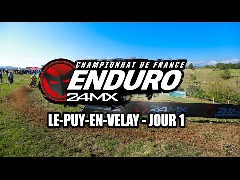 Championnat de France d'enduro Puy en Velay - J1