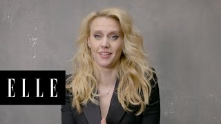 Ghostbusters Theme Song With Kate McKinnons Best Accents | ELLE