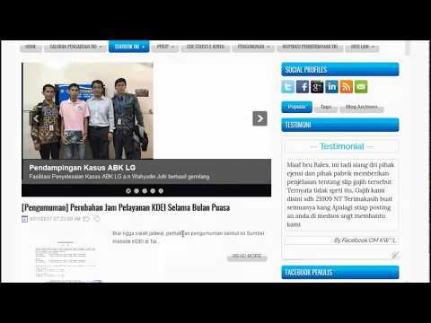 Fitur Portal Pengaduan TKI Taiwan (Juni 2017)