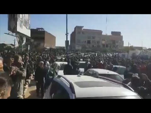 Iranians Protest Over Hike In Gas Prices