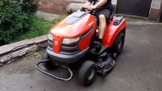 Lawn mower tractor Husqvarna CTH 220 TWIN