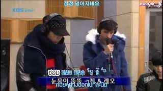 [Karaoke / Thai Sub] 131214 Ken & Leo Sing Dropping The Tears @ Kiss The Radio