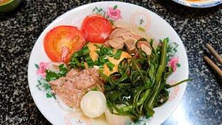 Nấu thử món canh bún | Miền Tây TV