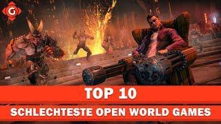 Top 10: Die schlechtesten Open World Games ever