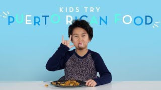 Kids Try Puerto Rican Food   Kids Try   HiHo Kids