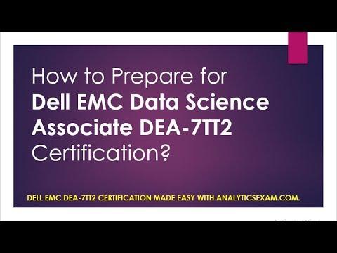 Latest Study Guide   Dell EMC Data Science Associate DEA-7TT2 ...