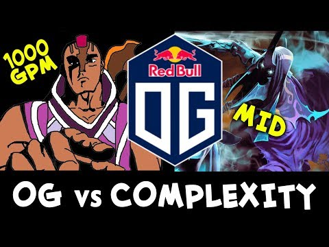 Mid Abaddon, s4 back to mid + 1000 GPM Anti-Mage — OG vs coL