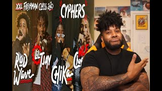 NLE Choppa, Rod Wave, Lil Tjay and Chika's 2020 XXL Freshman Cypher REACTION/REVIEW