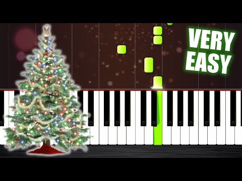 Wham! - Last Christmas - VERY EASY Piano Tutorial for beginners by PlutaX