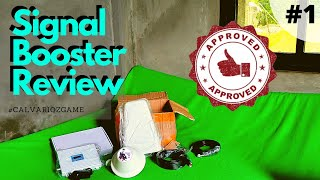 Signal booster for cell phone | 2G/3G/4G | #ProductReview