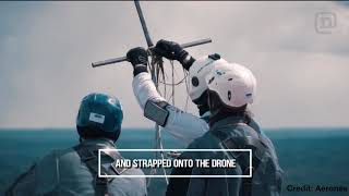 The First Drone Jump