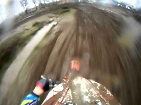 Motorcross training in Boxmeer met de helmcamera