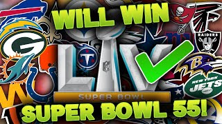 One BOLD Reason Why Your FAVORITE NFL Team WILL WIN Super Bowl 55
