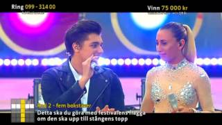Anton Ewald & Medina - This could be something - Sommarkrysset (TV4)