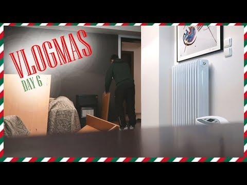 VLOGMAS DAY 6 : Έπιασα την διπλανή να κρυφακούει στην πόρτα μου