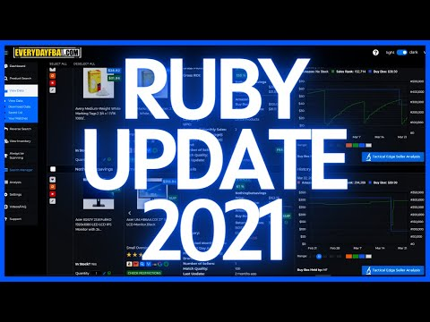 Tactical Arbitrage NEW RUBY UPDATE 2021