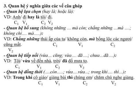 Chuyên đề Văn 8_Câu ghép (T1)