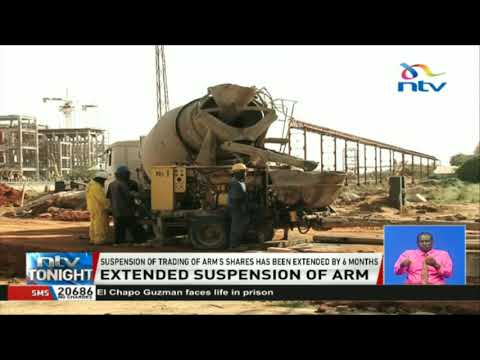 Suspension of trading of ARM's shares has been extended by six months