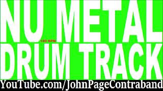 Nu Metal Drum Backing Track 100 bpm FREE