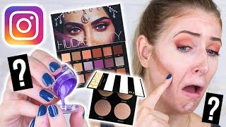 TESTING VIRAL INSTAGRAM MAKEUP & HACKS: #2 || 5 First Impressions
