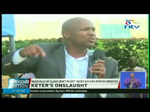 Alfred Keter vows to campaign against corrupt leaders