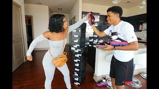 Download Youtube: SELLING ALL OF DE'ARRA SHOES PRANK!!! (GONE WRONG)
