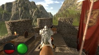 Horse riding test - The Grail - Unity3D game [W.I.P]