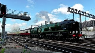 preview picture of video 'Trains at Ashford International 09/04/14'