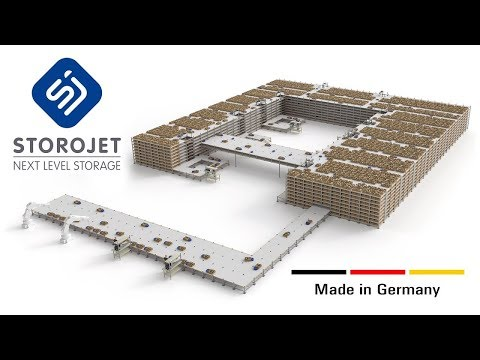 STOROJET - automatic storage and picking system - Made in Germany