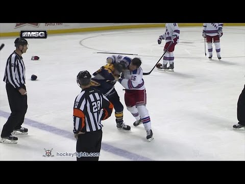 Nicolas Deslauriers vs. Tanner Glass