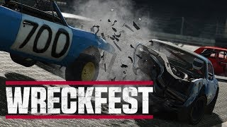 Man Puts Poor Driving Skills to Use! - Wreckfest Gameplay - PC