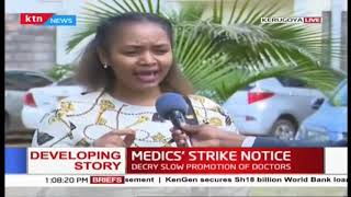 KMPDU issues 7-day strike notice in Kirinyaga County