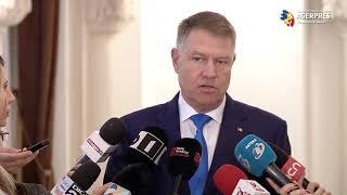 Iohannis: Moţiunea simplă la adresa ministrului Finanţelor - o golăneală a PSD