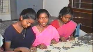 A film on women in watch bracelet assebling