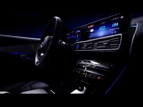 2020 Mercedes-Benz EQC: A preview of the interior