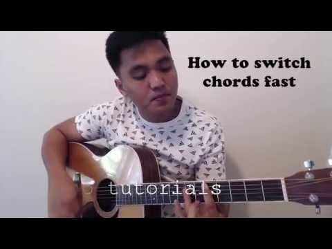 Basic Guitar Lessons: How To Switch Chords Fast