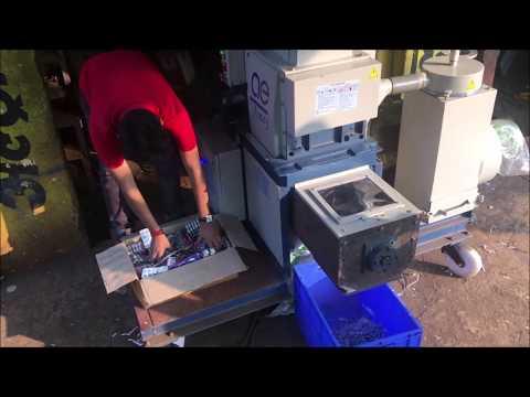 Blister And Crushed Tablet Shredder Machine