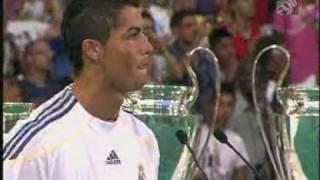 Презентация Роналду в Реале Часть 1