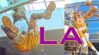 LA Lakers game day experience at Staples Center in Los Angeles vs Clippers