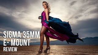 Sigma 35mm 1.4 E-Mount Portrait Review with Autofocus Tests and RAW Files
