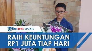 Kisah Inspiratif Pelajar 15 Tahun Sukses Bisnis Karangan Bunga saat Pandemi, Raup Jutaan Rupiah