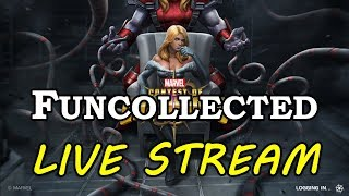 First Clear of Uncollected | Marvel Contest of Champions Live Stream