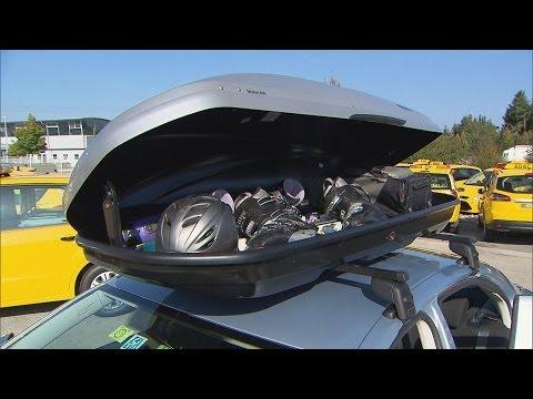 Dachboxen im Test | ADAC