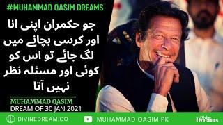 Imran Khan ko Awam, mhangay aur Army ki taraf koy tawajo nahi hai | Muhammad Qasim Dreams