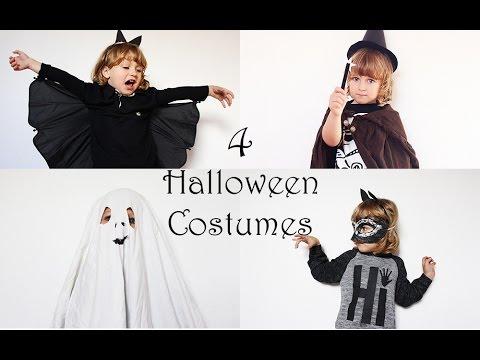 Halloween Kostüme für Kinder selber machen   Fledermaus, Gespenst, Zauberer   MamaKreativ
