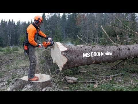 Stihl MS 500i – First Review Chainsaw w/o Carburetor